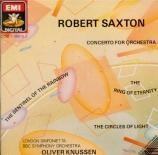SAXTON - Knussen - Concerto pour orchestre