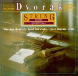 DVORAK - Smetana Quartet - Sextuor à cordes en la majeur op.48 B.80