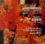 CHOSTAKOVITCH - Prague Chamber - Symphonie de chambre op.110a