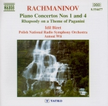 RACHMANINOV - Biret - Concerto pour piano n°1 en fa dièse mineur op.1