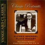 MOZART - Brendel - Sonate pour piano n°8 en la mineur K.310 (K6.300d)