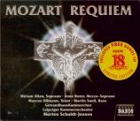 MOZART - Schuldt-Jensen - Requiem pour solistes, chœur et orchestre en r