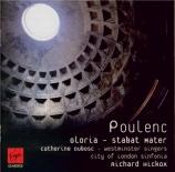 POULENC - Hickox - Gloria, pour soprano, chœur mixte et orchestre en sol