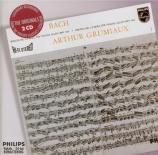 BACH - Grumiaux - Sonate pour violon seul n°1 en sol mineur BWV.1001