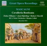 MASCAGNI - Cellini - Cavalleria rusticana