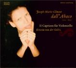 DALL'ABACO - von der Goltz - Onze caprices pour violoncelle
