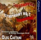 CHOSTAKOVITCH - Caetani - Symphonie n°7 op.60 'Leningrad'