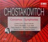 CHOSTAKOVITCH - Jansons - Concerto pour piano, trompette et orchestre à