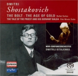 CHOSTAKOVITCH - Kitaenko - Le boulon : suite pour orchestre op.27a