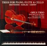 Trios pour piano, flûte et violoncelle