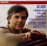 BRAHMS - Kovacevich - Quatre ballades pour piano op.10 'Edward'