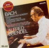 BACH - Brendel - Concerto italien, pour clavier en fa majeur BWV.971