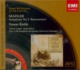 MAHLER - Rattle - Symphonie n°2 'Résurrection'