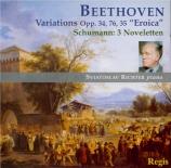 BEETHOVEN - Richter - Six variations sur un thème original op.34