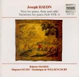 HAYDN - Mamou - Divertimento pour clavier, deux violons et violoncelle '