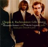 CHOPIN - Kniazev - Sonate pour violoncelle et piano en sol mineur op.65