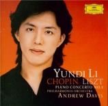CHOPIN - Yundi - Concerto pour piano et orchestre n°1 en mi mineur op.11