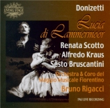 DONIZETTI - Rigacci - Lucia di Lammermoor (Live Firenze, 23 - 7 - 1963) Live Firenze, 23 - 7 - 1963