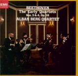 BEETHOVEN - Alban Berg Quar - Quatuor à cordes n°3 op.18-3 remastered by Yoshio Okazaki, import Japon