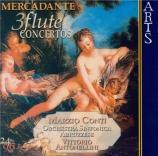 MERCADANTE - Conti - Concerto pour flûte et orchestre à cordes n°2 en mi