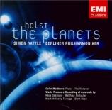 HOLST - Rattle - The Planets (Les planètes), pour orchestre op.32