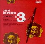 KAIPAINEN - Lintu - concerto pour basson et orchestre op.74