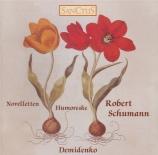 SCHUMANN - Demidenko - Humoreske, pour piano en si bémol majeur op.20