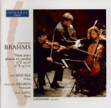 BRAHMS - Mourja - Trio avec piano n°2 op.87