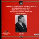 BEETHOVEN - Cziffra - Polonaise pour piano op.89