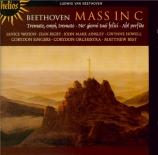 BEETHOVEN - Best - Messe en ut majeur op.86