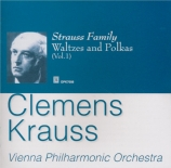 Strauss Family Waltzes and Polkas Vol.1 import Japon