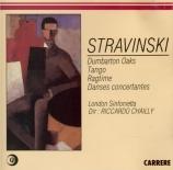 STRAVINSKY - Chailly - Concerto pour orchestre de chambre 'Dumbart