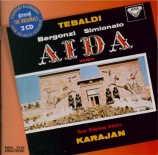 VERDI - Karajan - Aida, opéra en quatre actes