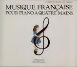 Musique française pour piano à quatre mains