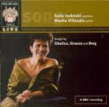 SIBELIUS - Isokoski - Mélodies