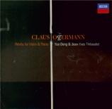 OGERMANN - Thibaudet - Sarabande-fantaisie