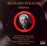 STRAUSS - Krauss - Salomé, opéra op.54