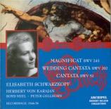 BACH - Schwarzkopf - Magnificat en ré majeur, pour solistes, chœur et or