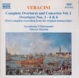 Complete Overtures and Concertos Vol.1