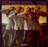 BLOCH - Shaham - Suite hébraïque
