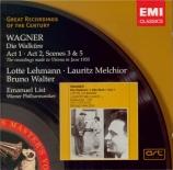 WAGNER - Walter - Die Walküre WWV.86b : acte 1