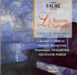 FAURE - Corréas - La bonne chanson (Verlaine), cycle de mélodies pour vo