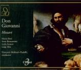 MOZART - Molinari-Pradel - Don Giovanni (Don Juan), dramma giocoso en de live RAI Milano, 26 - 4 - 1960
