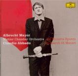 MOZART - Mayer - Andante pour flûte et orchestre en do majeur K.315 (K6