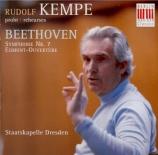 BEETHOVEN - Kempe - Symphonie n°7 op.92 Première répétition pour un concert de gala à l'occasion de l'année Beethoven 1970