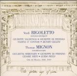 VERDI - Di Stefano - Rigoletto : extraits