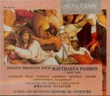 BACH - Walter - Passion selon St Matthieu BWV 244 : extraits