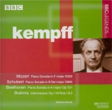 MOZART - Kempff - Sonate pour piano n°12 en fa majeur K.332 (K6.300k)