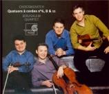 CHOSTAKOVITCH - Jerusalem Quart - Quatuor à cordes n°6 op.101