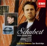 SCHUBERT - Andsnes - Sonate pour piano en do mineur D.958